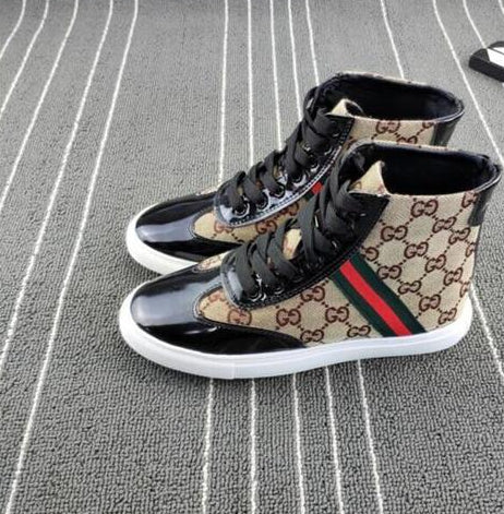 High Top Men's And Women Walking Shoes