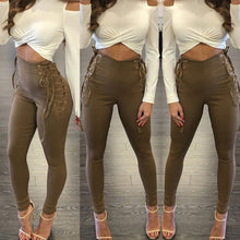 Load image into Gallery viewer, Women Yoga Fitness Leggings Running Gym Stretch Sports High Waist Pants Trousers - kats closet1