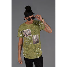 Load image into Gallery viewer, Iconic Tee in Olive - kats closet1