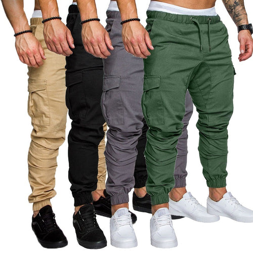 Men's Sport Joggers Hip Hop Jogging Fitness Pants - kats closet1
