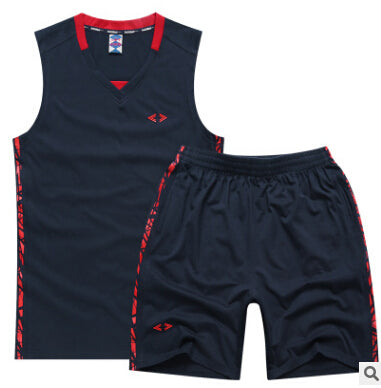 Summer Men Sport Sleeveless Tank Top + Shorts Set