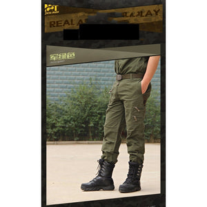 Breathable Multi Pocket Military Army Camouflage Cargo Pants - kats closet1