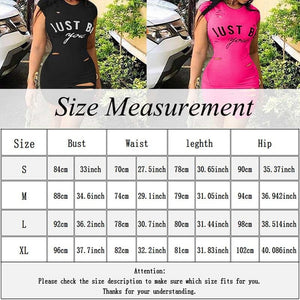 New Fashion Women Sexy Letter Printed hole Bodycon Sleeveless Dress Solid Color Evening Party Cocktail Mini Dress - kats closet1