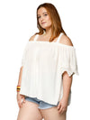 Xehar Women's Plus Size Casual Off Shoulder Crochet Blouse Tunic TopXehar Women's Plus Size Casual Off Shoulder Crochet Blouse Tunic Top - kats closet1