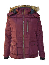 Load image into Gallery viewer, Plus Size Extended Arrow Down Quilted Coat 1X-6X - kats closet1
