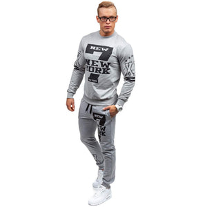 men's casual sweat suit - kats closet1