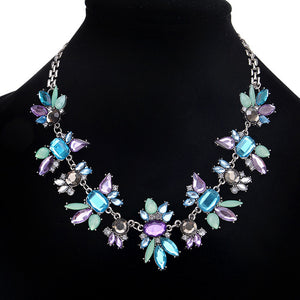 Women's Elegant Vintage Butterfly Necklace Statement Jewelry - kats closet1