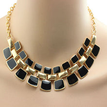 Load image into Gallery viewer, Fashionable Hollow Out Enamel Punk Statement Alloy Necklaces Gift BK - kats closet1