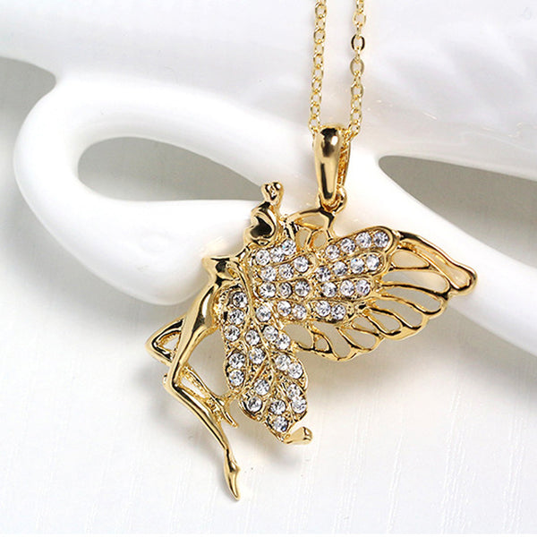 New Alloy Women Necklace Metal Jewelry Bib Pendant Chain Necklace - kats closet1