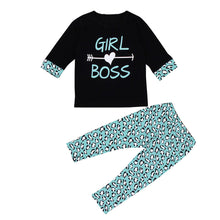 Load image into Gallery viewer, 2 Piece Toddler Girls Shirt And Pants Set - kats closet1