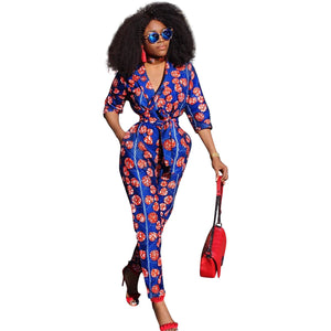 Polyester Print Casual Jumpsuits & Rompers - kats closet1