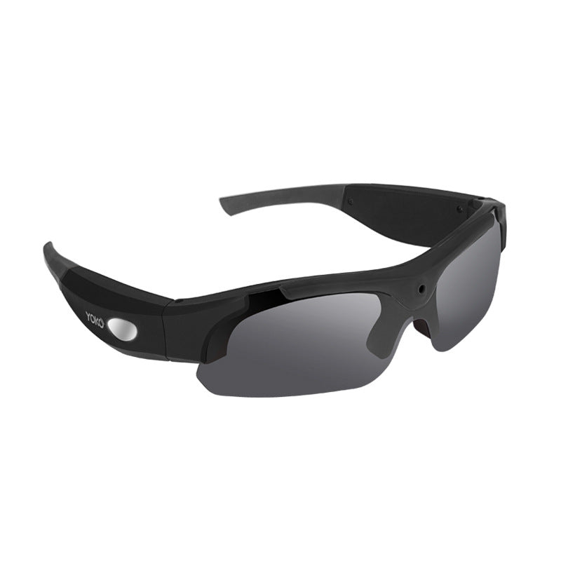 1080p HD wide-angle sports camera + photo glasses bike motorcycle outdoor sports sunglasses Digital Camera Bicycle Eyewear - kats closet1