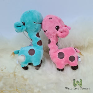 Mini Plush Toy Giraffe  . 180 mm Height