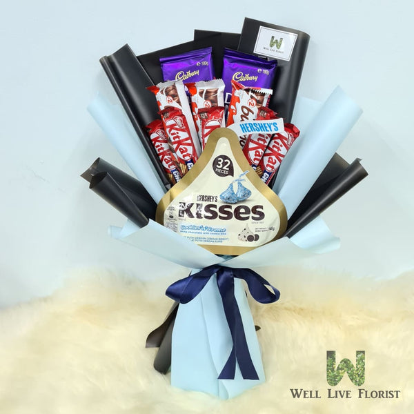 Hand Bouquet Of Chocolate