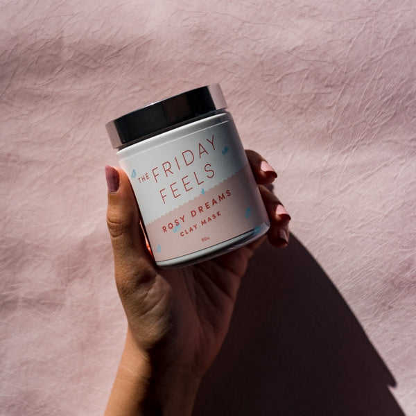 Rosy Dreams Pink Clay Mask - The Friday Feels