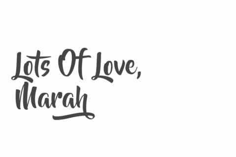Marah From The Friday Feel Skincare Products