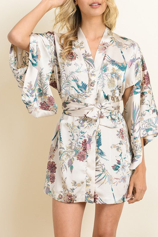 Hana Button Down Kimono Dress