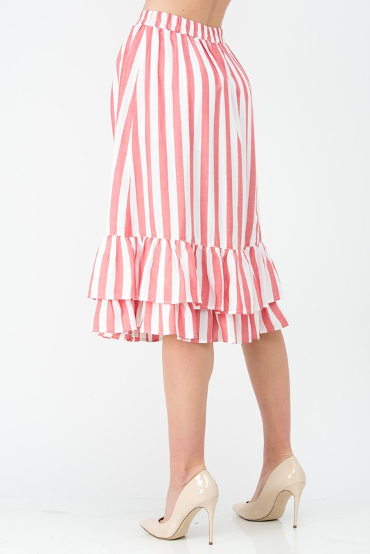 Lucy Tiered Ruffle Skirt