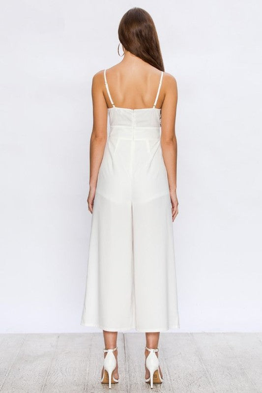 white cowl next jumpsuit
