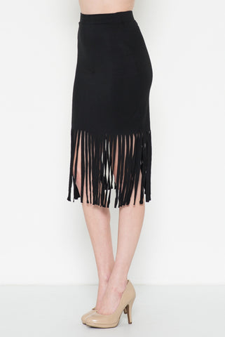 Stacey Feathered Dress