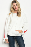 hoodie with side stripe