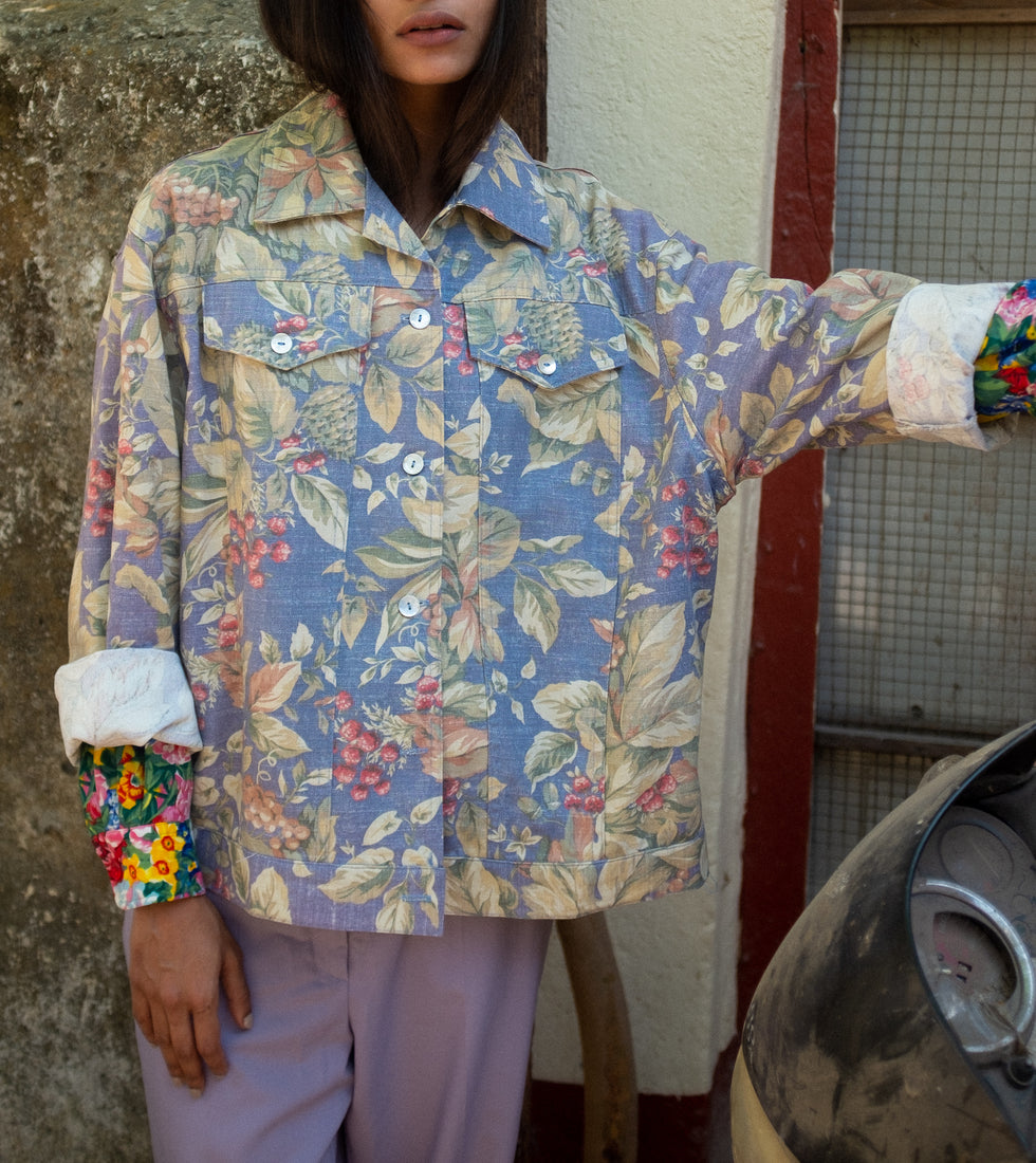 Vintage - 1980s Floral Jacket by Norm Thompson