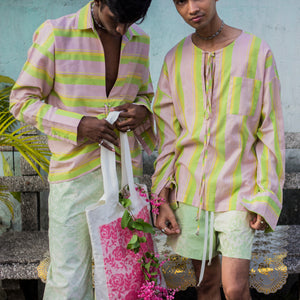 Ruched Candy Shirt - AMESH