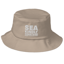 Load image into Gallery viewer, Embroidered Old School Bucket Hat