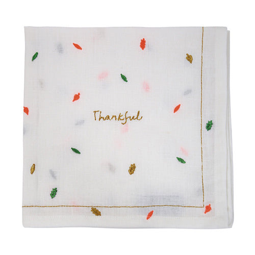 THANKFUL Linen Napkin
