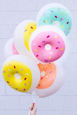 "16"" Donut Latex Balloon"