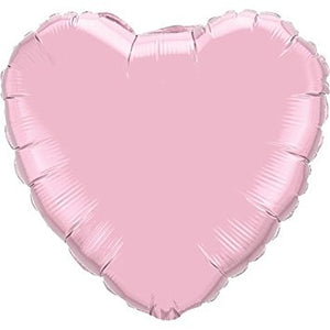 "10"" Pink Heart Foil Balloon"
