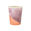 Lavender Watercolor Paper Cups