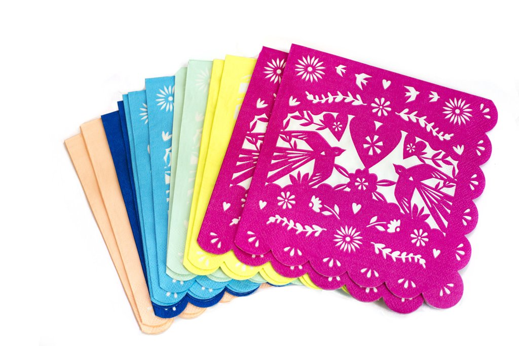 Colorful Fiesta Napkins