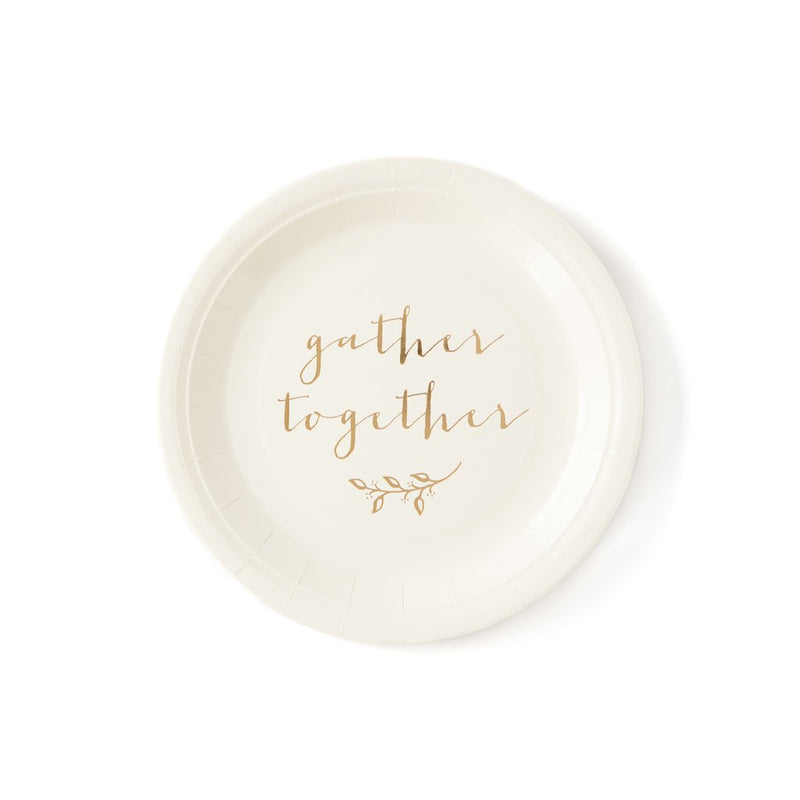 Gather Together Thanksgiving Plate