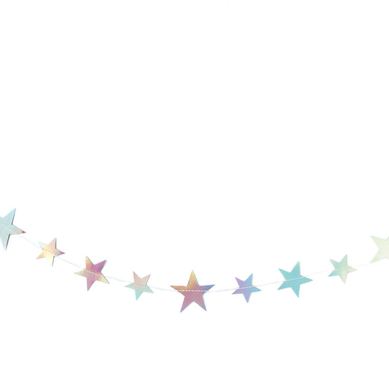 Holographic Stars Banner
