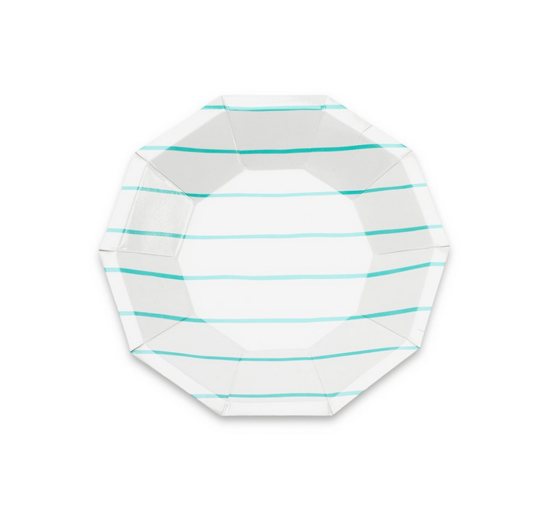 Frenchie Striped Small Plates