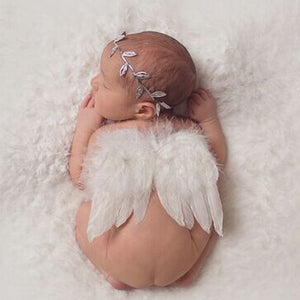 Newborn Angel Wing Set