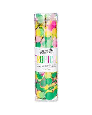 Tropical Artisan Confetti