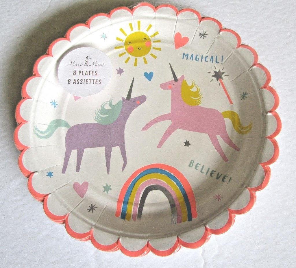Unicorn Plates- Small