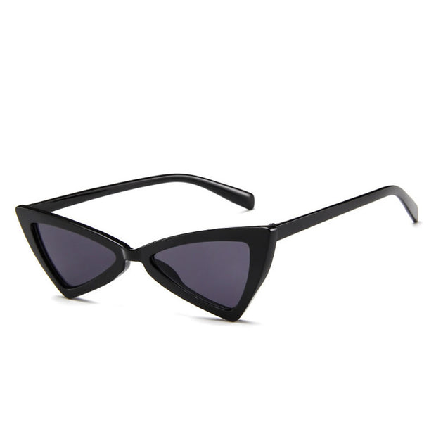 Serena Cat Eye Fashion Sunglasses - Black