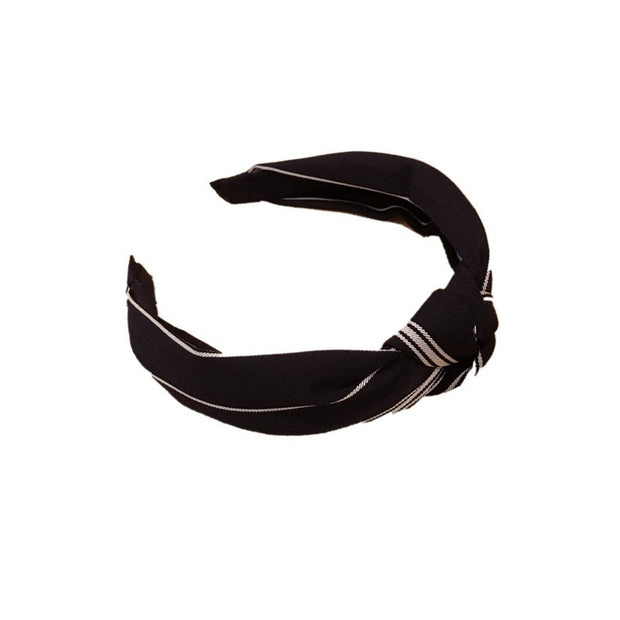 Olivia Hair Band - Black