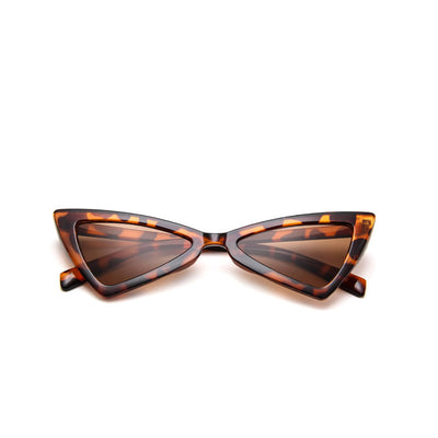 Serena Cat Eye Fashion Sunglasses - Animal Print