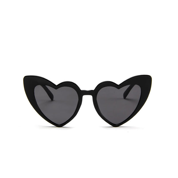 Gigi Heart Sunglasses - Black