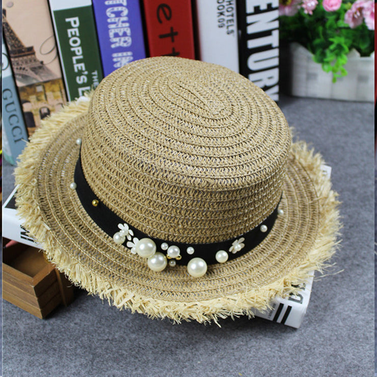 Straw Floppy Hat sun protection