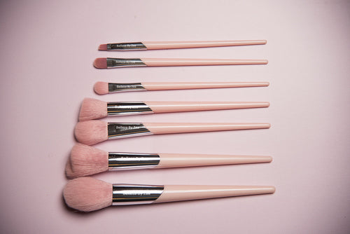 Belleza By Zaa 7pc #Basic Brush Set - Pink Set