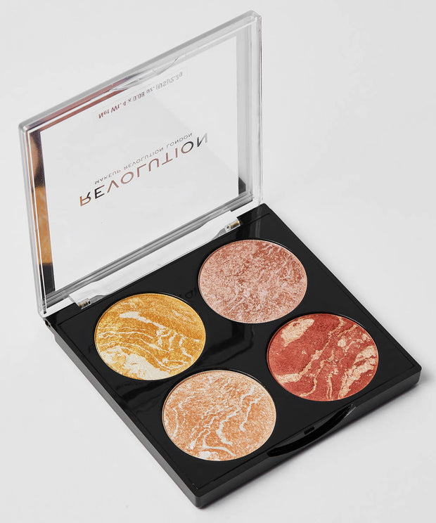 MAKEUP REVOLUTION CHEEK KIT - Make it count