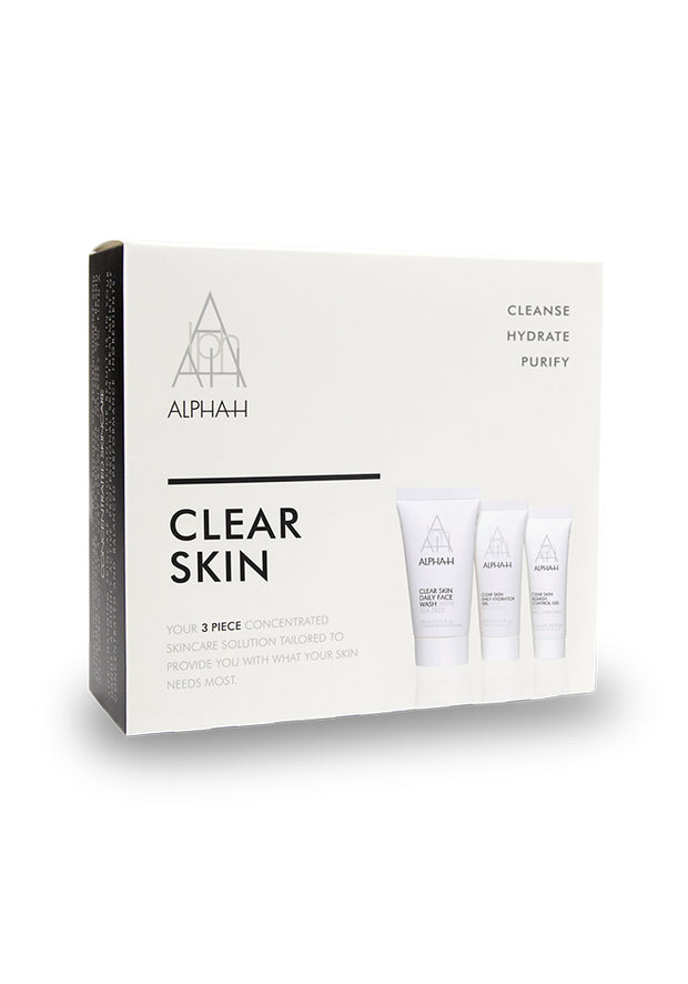 Alpha-H Clear Skin Starter Collection ( 30ml, 15ml, 7.5ml )