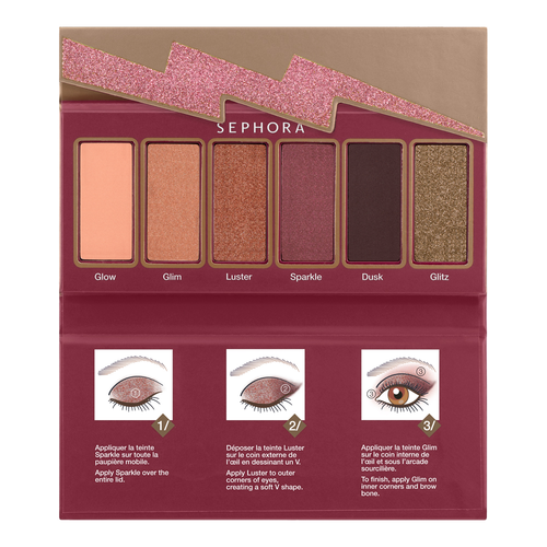 SEPHORA COLLECTION Flash Sequins Miniature Palette