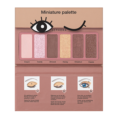 SEPHORA COLLECTION Miniature Palette - Donut shades collection