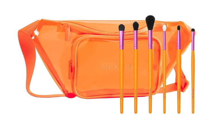 Morphe VIP Sweep by Saweeti 6pc brush set & belt bag